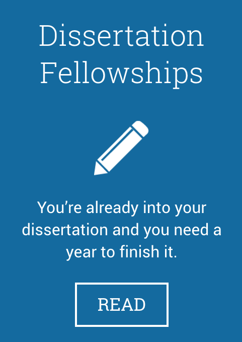 Dissertation Fellowship Program